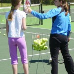 Junior Tennis Academy at Bur-Mil Park in Greensboro NC