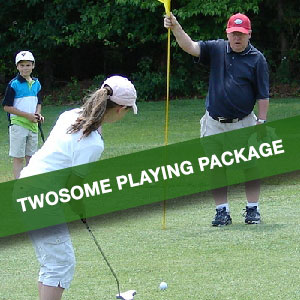Twosome Playing Lesson | Precision Golf School